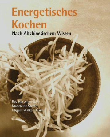 """Probeseiten aus dem Buch """"Energetisches Kochen nach ..."""