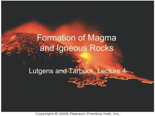 Igneous Rocks Pdf