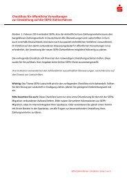 Checkliste fuer oeffentliche Verwaltungen zur Umstellung auf die ...