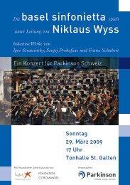 bekannte Werke von Igor Strawinsky, Sergej ... - Basel Sinfonietta