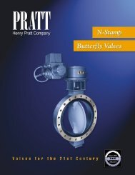 Nuclear Valve Brochure - Henry Pratt Company