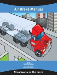 Nova Scotia Air Brake Manual - Government of Nova Scotia
