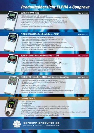 Geräte - Parsenn-Produkte AG