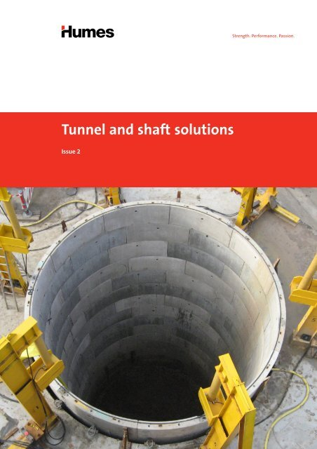 Tunnel and shaft solutions brochure - Humes