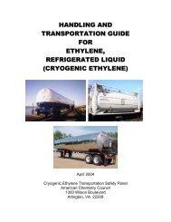 Handling and Transportation Guide for Ethylene - LyondellBasell
