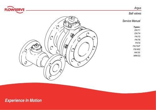 Flowserve Argus Ball Valves Service Manual