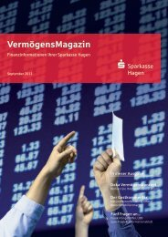 VermögensMagazin - Sparkasse Hagen