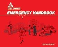EMERGENCY HANDBOOK - Emergency 101