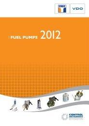 Echlin & VDO Fuel Pumps - Control Instruments Automotive