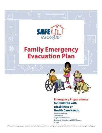 Family Emergency Evacuation Plan - Safe Escape
