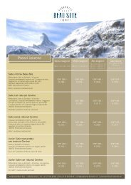 Prezzi inverno - Parkhotel Beau-Site