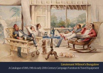 Lieutenant Wilmot's Bungalow - Christopher Clarke Antiques