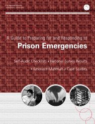 A Guide to Preparing for and Responding to Prison Emergencies