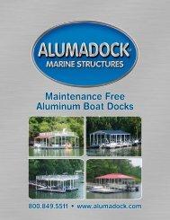 Maintenance Free Aluminum Boat Docks - Regatta Dock Systems