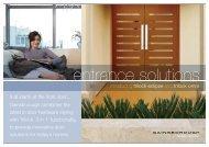 Trilock Eclipse & Omni Brochure - Install-a-door