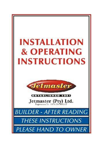 Jetmaster universal 1050 manuals.
