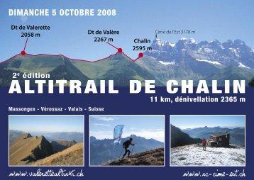 ALTITRAIL DE CHALIN - Passe Montagne
