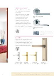 Gainsborough Contractor 100 Nouvelle (PDF) - Door Hardware ...