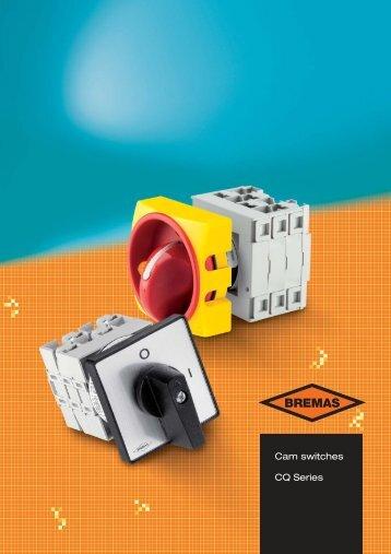 BremasErsce catalogue 2011 - cam switches CQ series - Beltrade