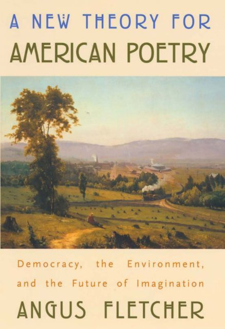 A New Theory For American Poetry Kampus Stiba Malang