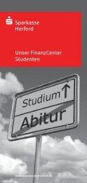 Unser FinanzCenter Studenten - Sparkasse Herford