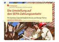 Die Umstellung auf den SEPA-Zahlungsverkehr - Sparkasse Lippstadt