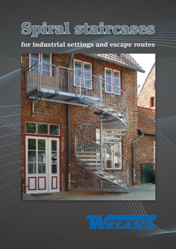 Spiral Staircases for industrial settings and escape routes - Building ...