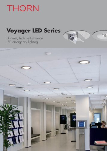Voyager LED Series - THORN Lighting