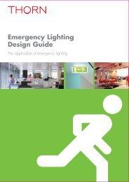 Emergency Lighting Design Guide - THORN Lighting [Home]