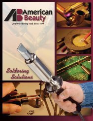 Soldering Solutions - American Beauty Tools