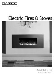 Electric Fires & Stoves - Harworth Heating Ltd