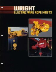 Download Complete Acco Wire Rope Hoist Catalogue (PDF