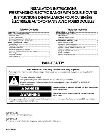 Electric slicershredder home depot installation instructions freestanding electric range home depot publicscrutiny Gallery