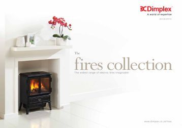 The widest range of electric fires imaginable - Dimplex