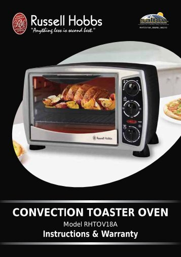CONVECTION TOASTER OVEN - Russell Hobbs