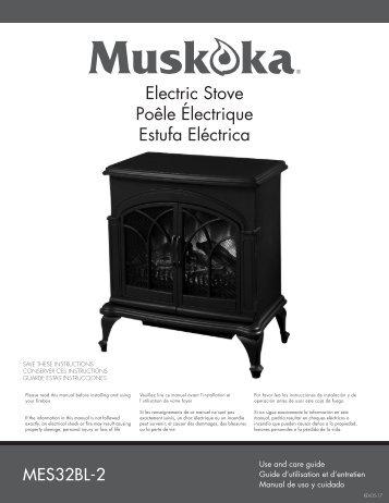 Electric Stove Poêle Électrique Estufa Eléctrica - Home Depot