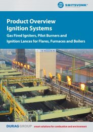 Product Overview Ignition Systems - Smitsvonk Holland BV