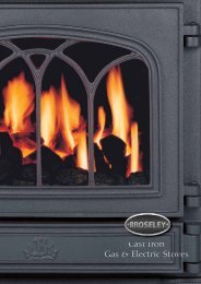 Cast Iron Gas & Electric Stoves - The Fireplace Room Ringwood