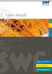 Brochure rope hoists and CraneKits - SWF Krantechnik GmbH
