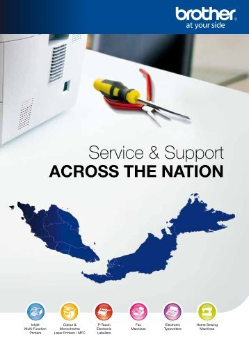 Service & Support - Brother