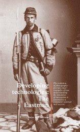 Developing technologies: The Eastman Kodak story