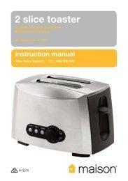 2 slice toaster - Tempo (Aust)
