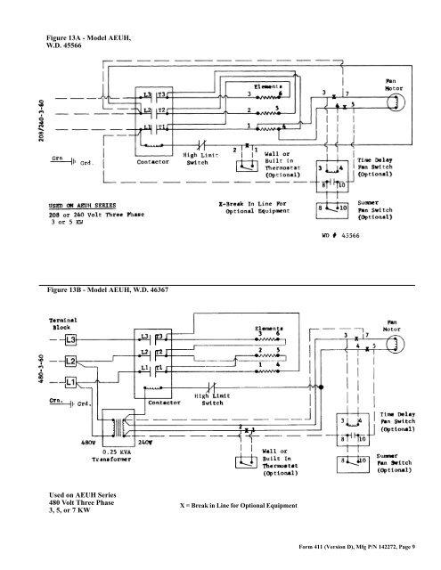 32 Reznor Heater Parts Diagram