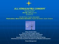 star electric company - New Mexico - Energy, Minerals and Natural ...