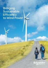 Bringing Sustainable Efficiency to Wind Power - Schneider Electric