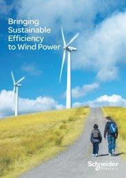 Bringing Sustainable Efficiency to Wind Power - Schneider Electric