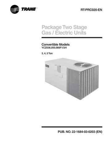 package two stage gas electric units convertible climas trane?quality=85 12 seer package gas electric units convertible aireng com trane economizer wiring diagram at bayanpartner.co
