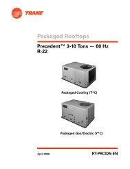 Packaged Cooling with Electric Heat and Gas/Electric Rooftop Units ...