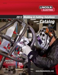 Lincoln Electric Welding & Cutting Solutions Equipment Catalog