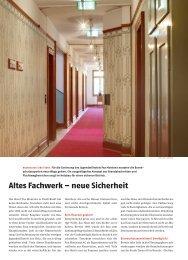 altes Fachwerk – neue sicherheit - Jugendstil-Hotel Paxmontana